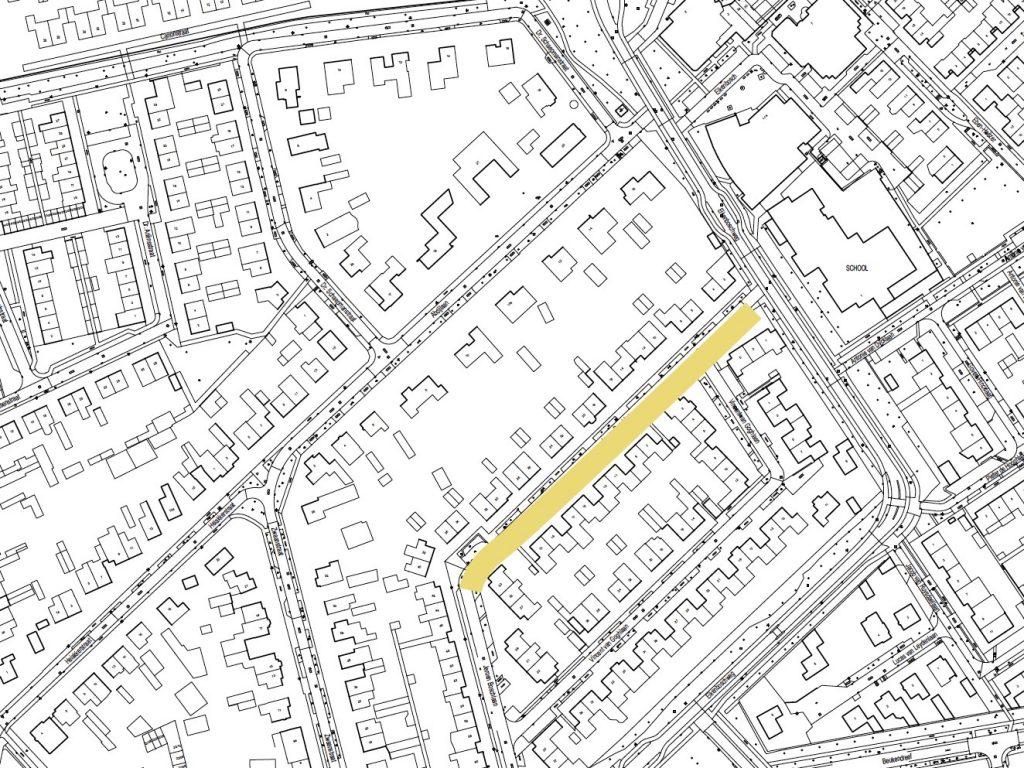 De ligging van de Jeroen Boschlaan (deel 1) in de buurt
