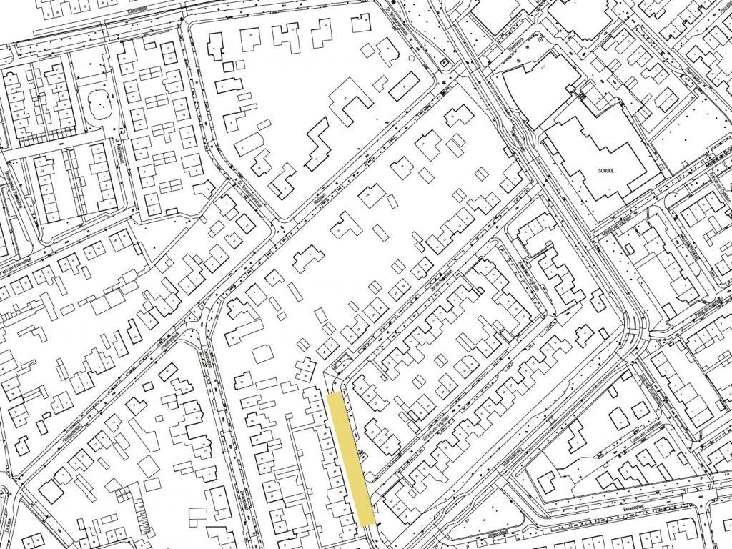 De ligging van de Jeroen Boschlaan (deel 2) in de buurt