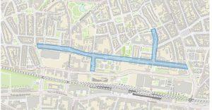 Projectgebied Lange Nieuwstraat