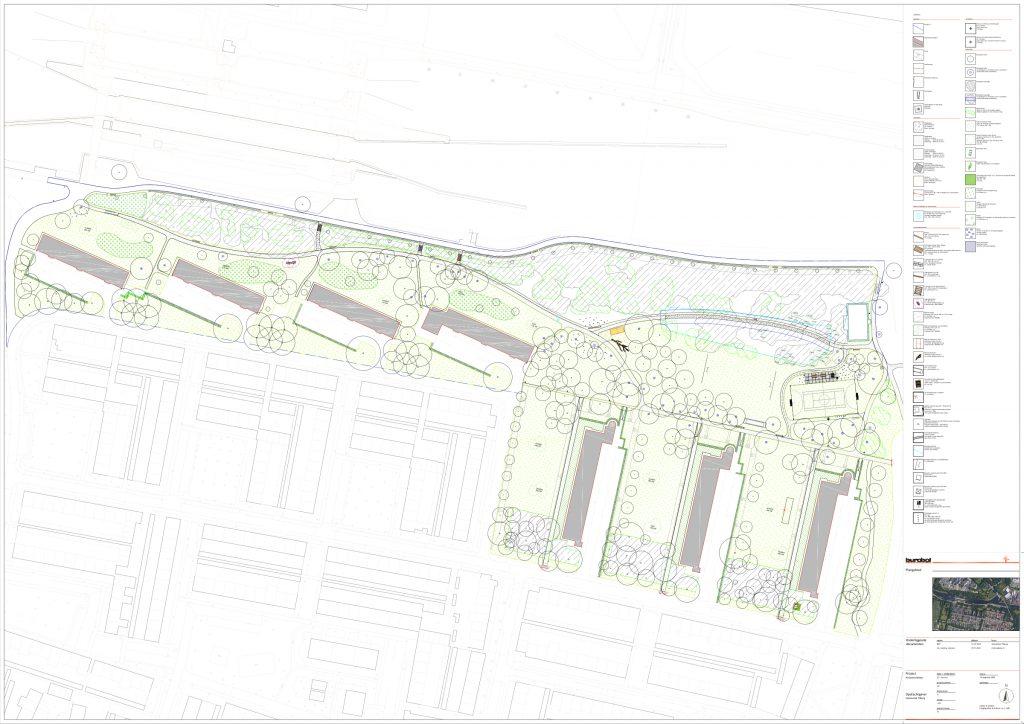 Definitief ontwerp park Kruizemuntweg