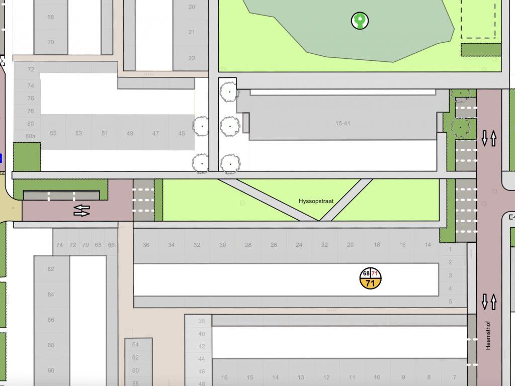 Voorlopig ontwerp Hyssopstraat