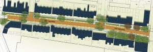 Foto van het ontwerp voor Philips Vingboonsstraat